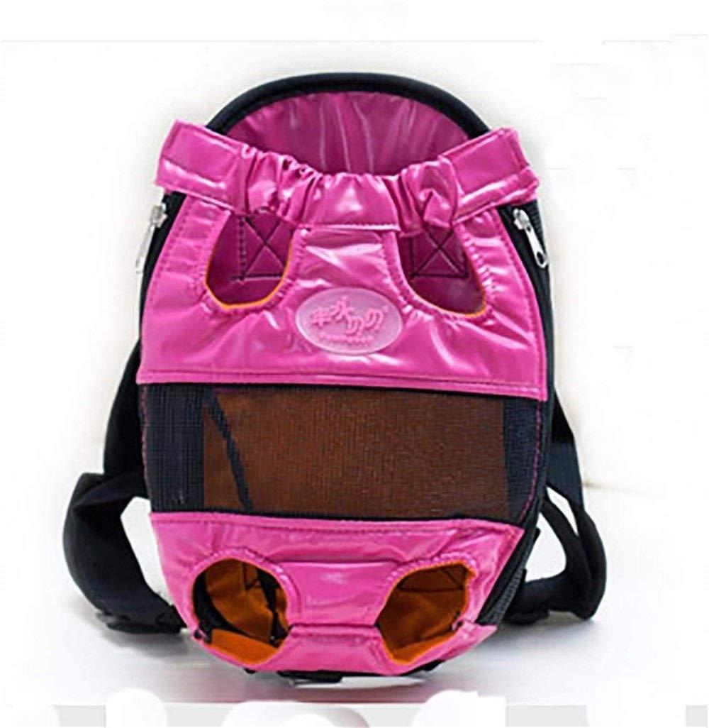 Pink BeTti Go Out Pet Backpack Backpacks Backpacks Teddy Bomei Portable Bag Dog Bag Cat Bag Chest Bag Dog Bag Dog Supplies (color   Pink)