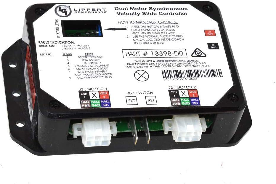 Lippert Schwintek 13398-D0 C2 Synchronous Velocity Slide Controller RV Motorhome by NPGD