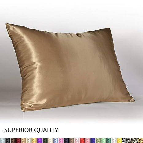 Amazon Com Shop Bedding Luxury Satin Pillowcase For Hair King