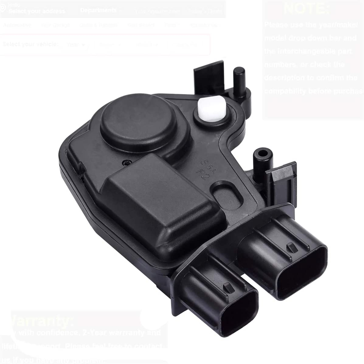 2002-2006 Acura RSX Replace 72155-S5P-A11,72115-S6A-J01,746301,746302 FAERSI Door Lock Actuator Motor Front Left and Right Compatible with 2003 2004 2005 Honda Accord Civic CR-V Element Odyssey Pilot