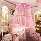 European dome ceiling mosquito nets/princess wind fashion,grounding bed net/simple and beautiful,sucker nets-B 200x200cm(79x79inch)