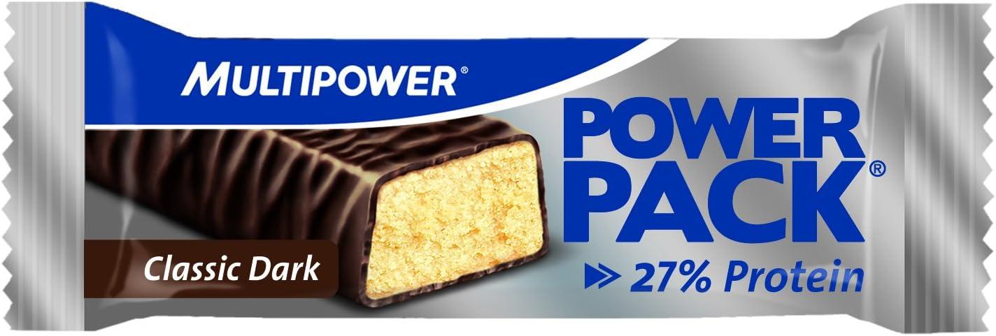 Multipower Power Chocolate Negro Barras Nutritivas - 24 Barras