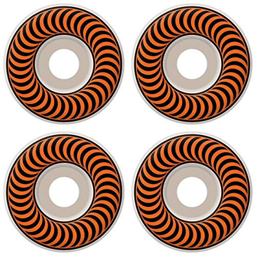 Spitfire Classic Series 53mm High Performance Skateboard Wheel (Set of 4) (53mm Wheels Spitfire)