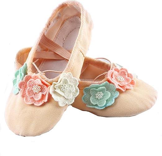 Girls Ballet Shoes Cute Soft Dancing Shoes Yoga Shoes Flat Shoes