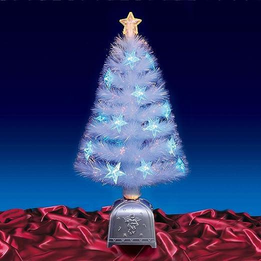 christmas tree gorgeous 32 80cm white fibre optic christmas tree
