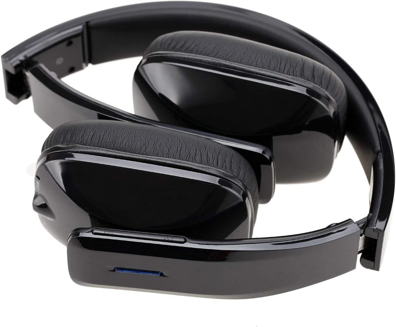 WhiteLabel On Ear Bluetooth Headphones, Standard Style (WL558+Black)