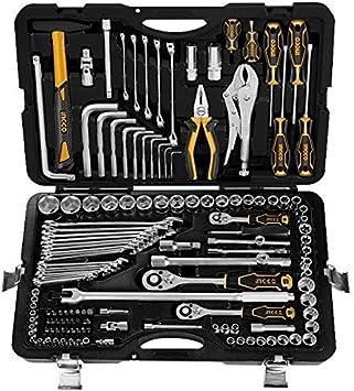 Ingco - Caja Herramientas Hkthp21421: Amazon.es: Bricolaje y herramientas