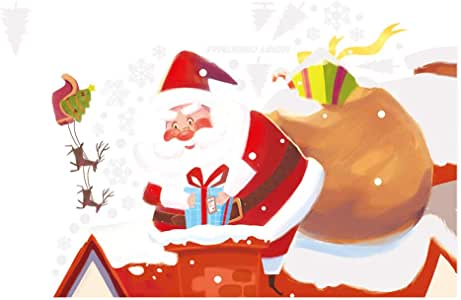 Twocc-Navidad, Navidad Ciervo Sling Vinilos Decorativos Hogar ...