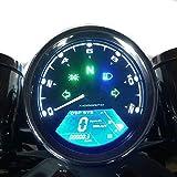 Amazon com: Welugnal MPH/KMH 124MPH/ 199kmh 12000 rpm LCD Digital