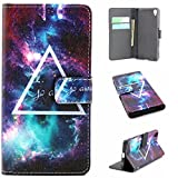 Sony Xperia Z5 Case,Ngift [Star Universe] [Wallet S] [Kickstand Feature] Premium Wallet PU Leather Folio Wallet Flip Case Cover for Sony Xperia Z5 Case