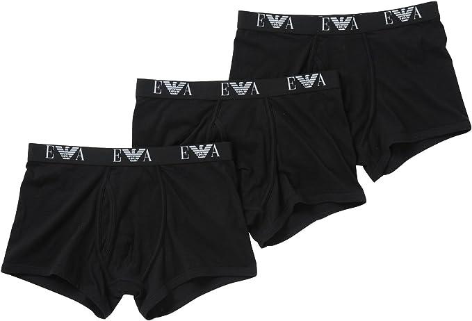 Emporio Armani calzoncillos 3-pack algodón hombre: Amazon.es: Ropa ...