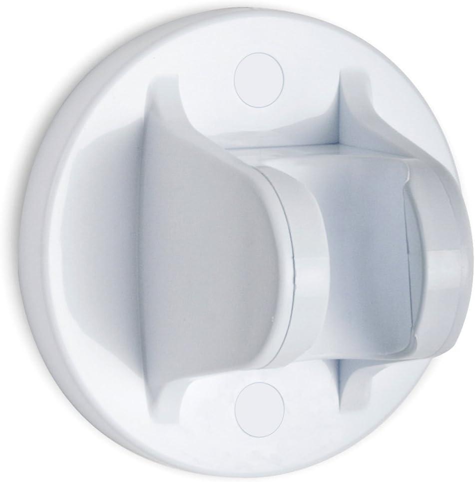 Blanco TATAY 3360001 Soporte de Ducha Multiposici/ón Pl/ástico Polipropileno 8 x 5.5 x 8 cm