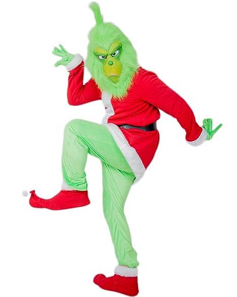 Amazon.com: Grinch - Guantes para disfraz de Papá Noel para ...