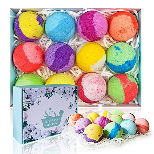 Awesome bath bombs and can be given as individual gifts.