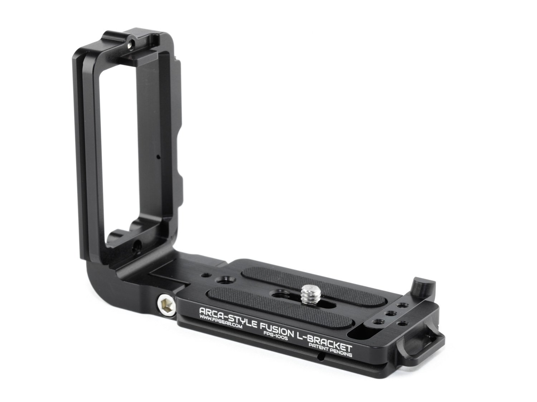 Arca-Swiss Compatible Fusion L-Bracket - Black Rapid Compatible - Color Black by Fusion Plate (Image #3)