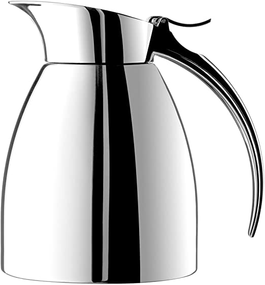 Emsa Elegant Insulation Thermos Thermal Jug Coffeepot Stainless Steel 1,3 L