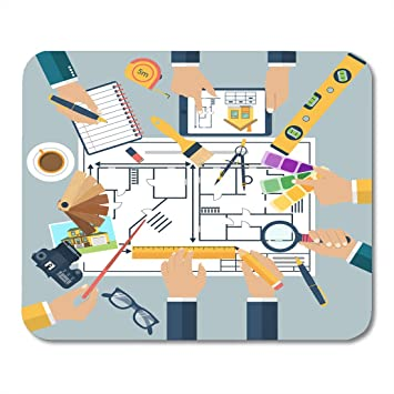 Amazoncom Nakamela Mouse Pads Team Of People Working Together To