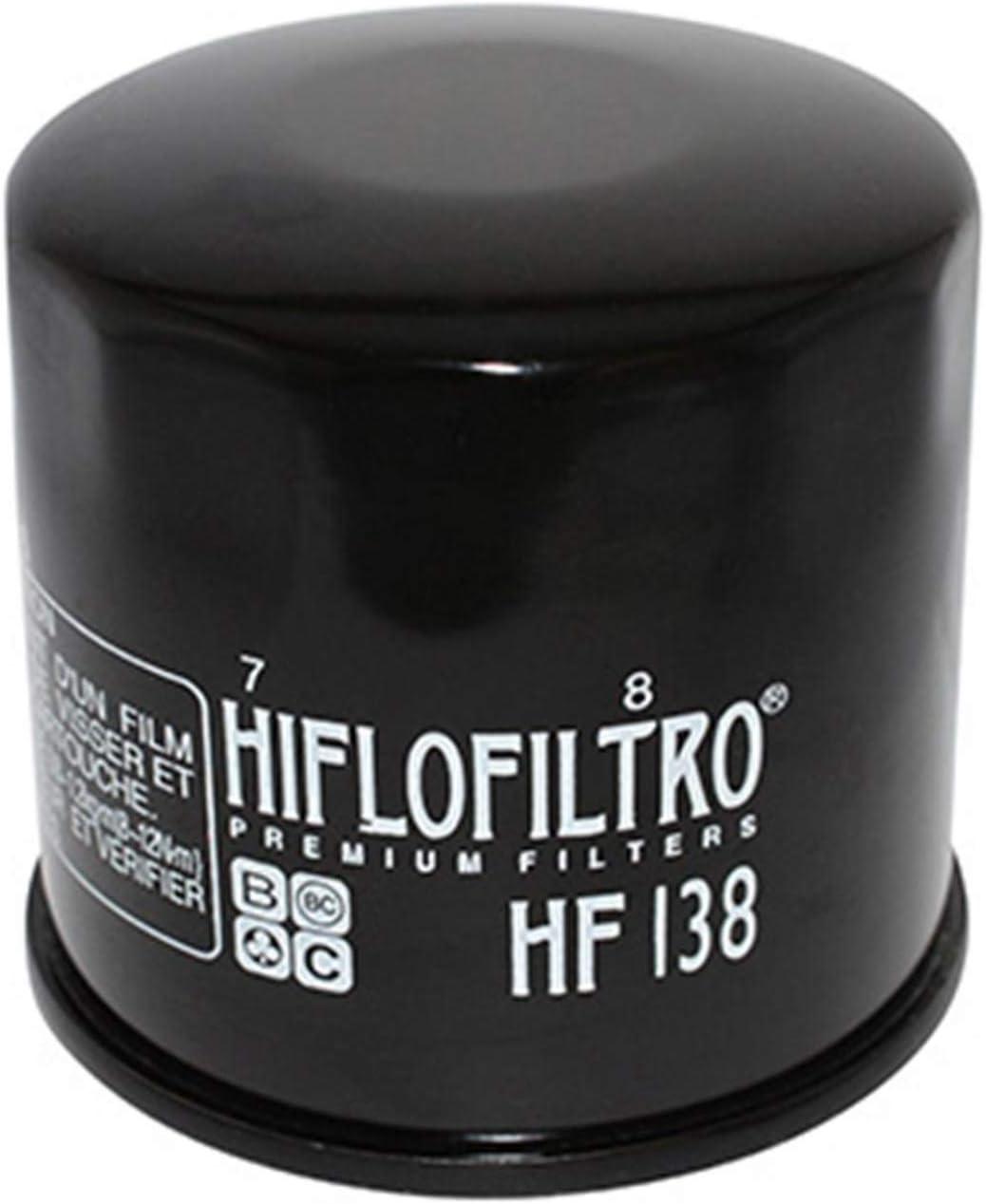 HF138 1000 GSX-R FILTRE A HUILE HIFLOFILTRO POUR SUZUKI 650 BANDIT 68x65mm 1500 INTRUDER-APRILIA 1000 RSV4 2009 750 GSX-R 1300 HAYABUSA