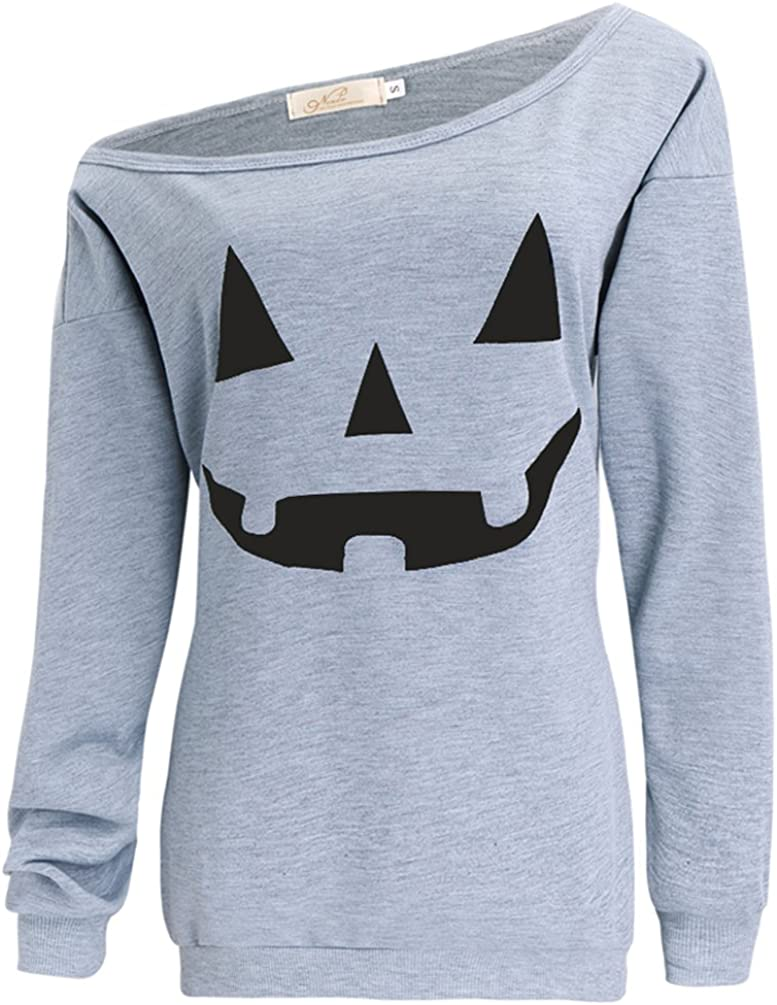 Pumpkin Halloween Pumpkins Women/'s Sweatshirt Jumper