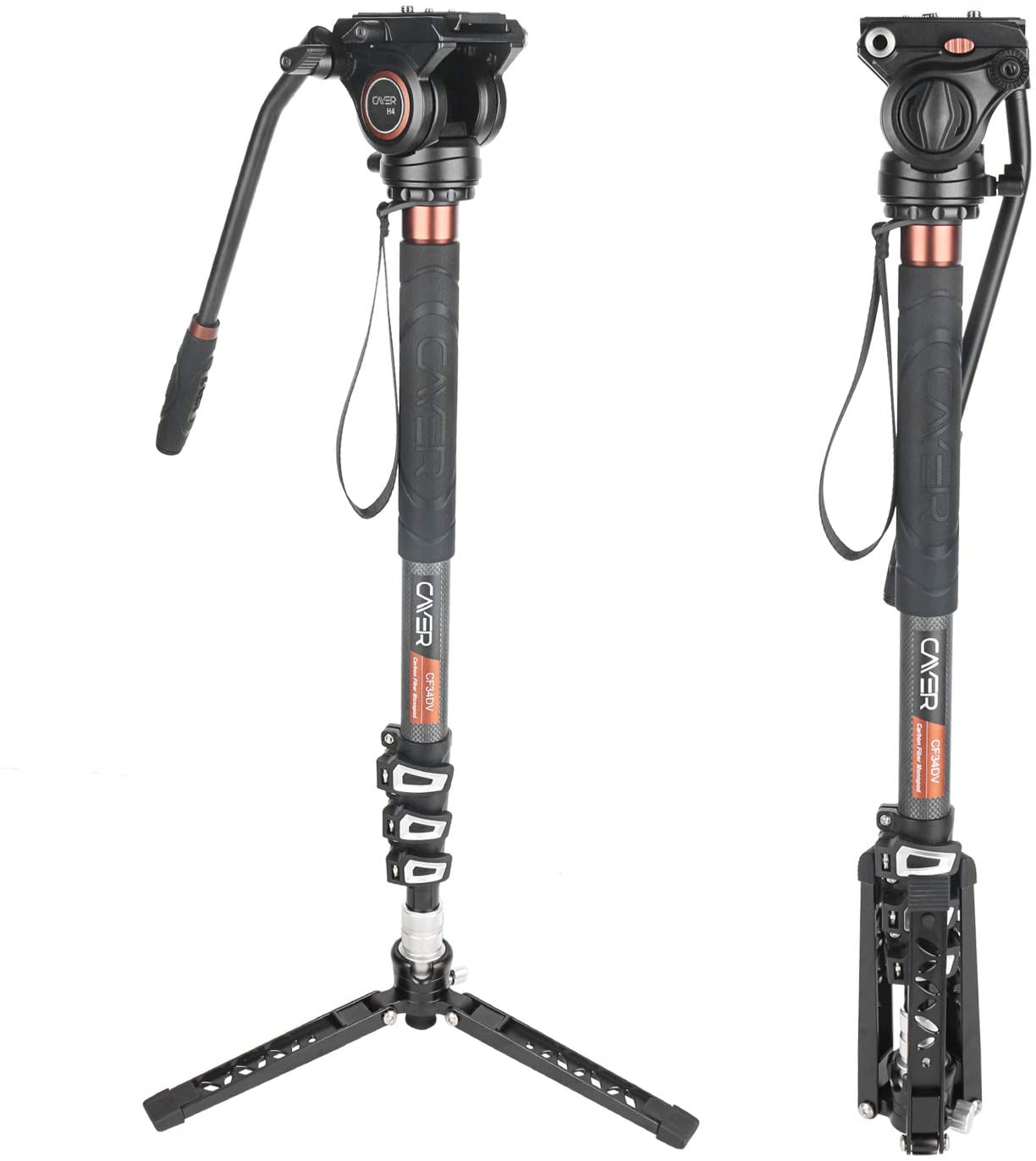 Professional Heavy Duty 72 Monopod//Unipod Dual Optional Head for Canon VIXIA HF M41