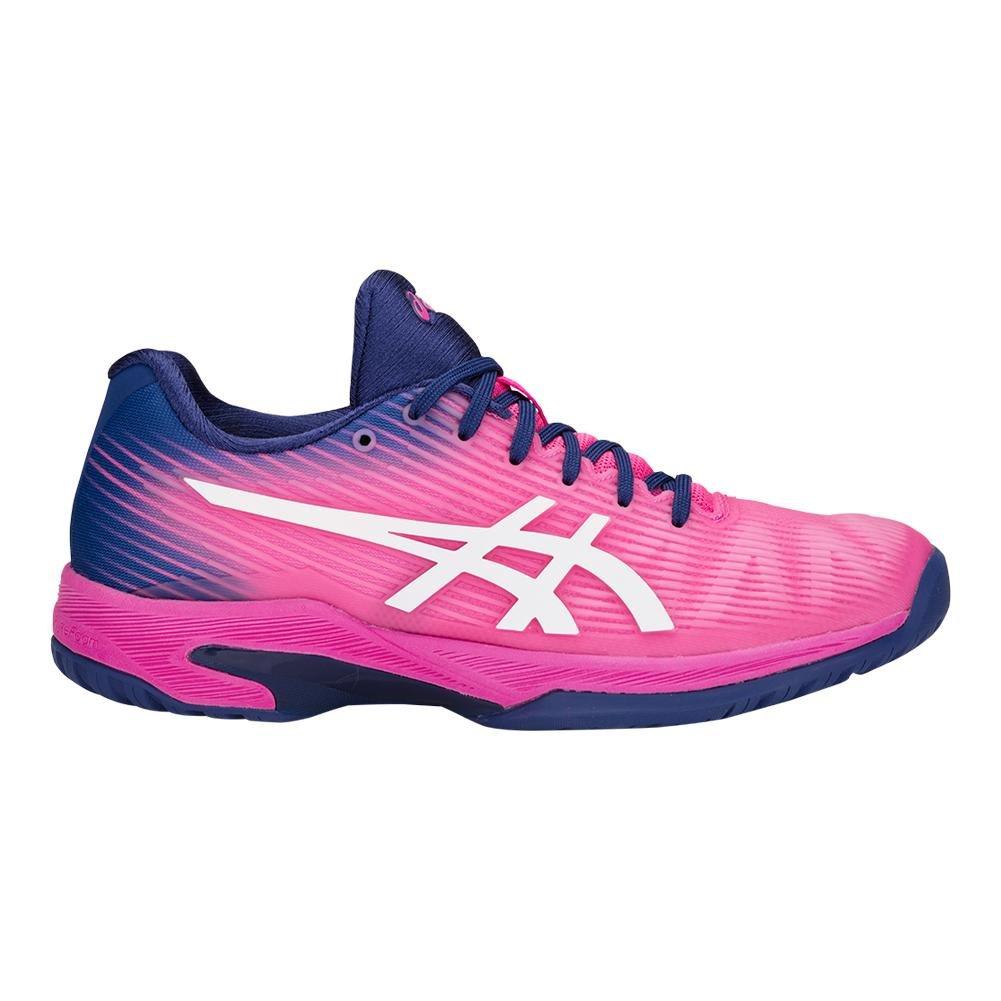 ASICS Womens Solution Speed B(M) FF Tennis Shoe B0783QDM5K 11.5 B(M) Speed US|Pink/White 82e78e