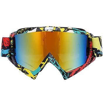 Tbest Gafas de Esquí,Gafas de Esquí Anti-UV Antiniebla ...