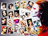 Bestmall14 Pairs Eye Tattoo Sticker Transfer Temporary Makeup Eyeliner Eyeshadow Sexy Party Ship from US
