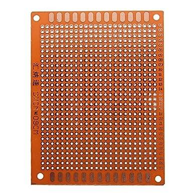ExcLent 10Pcs 7X9Cm Pcb Prototipos Tarjeta De Circuito ...