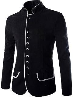 Jeansian Moda Chaqueta Abrigos Blusas Chaqueta Hombres Mens Fashion Jacket Outerwear Tops Blazer 9388