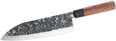 Tokiokitchenware Kuchenmesser Kochmesser Mit Echtholzgriff