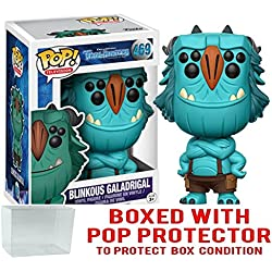 Funko! Pop TV: Troll Hunters Blinky #469 (Bundled with Pop BOX PROTECTOR CASE)