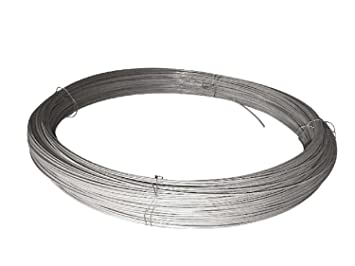 Straining Line Wire 2.5mm x 100m Roll Tensioning Galvanised Steel ...