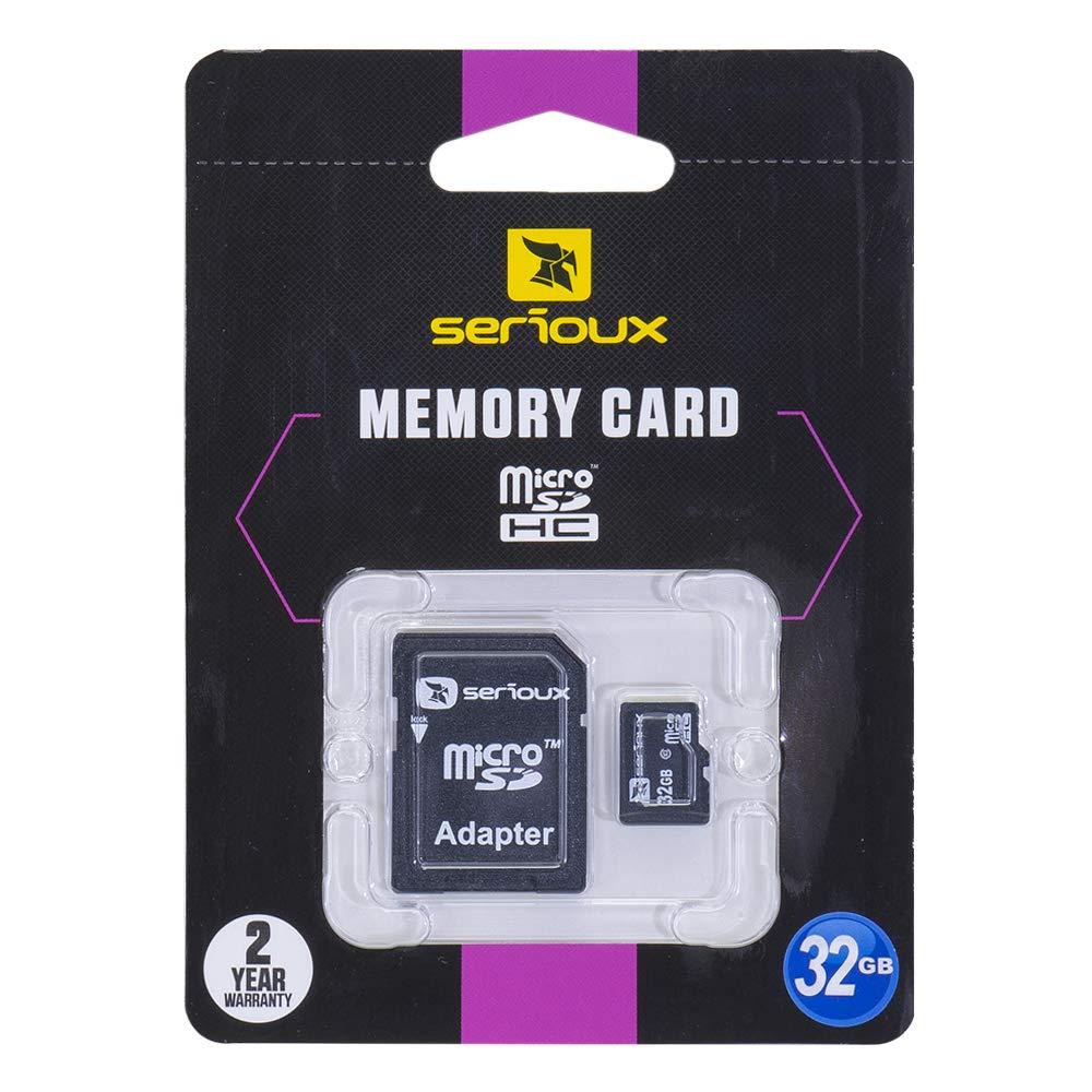 Tarjeta de Memoria Serioux MicroSD 32GB Clase 10 con ...
