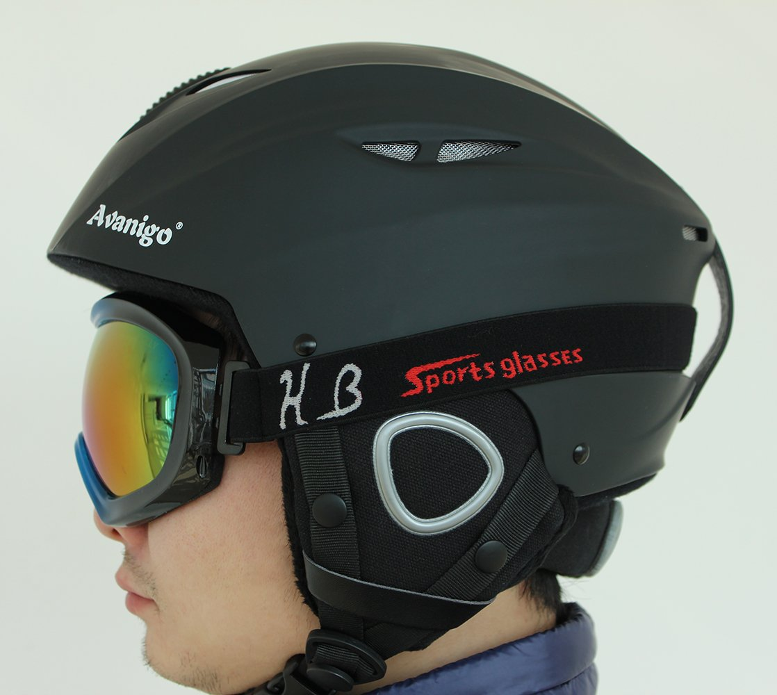 19e9c9f9baf Amazon.com  Avanigo Ski Helmet Safety Certificate