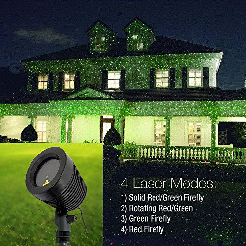 Modern Home Laser Light Projector - 3D Holographic Dancing Light Show