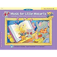 Music For Little Mozarts Music Workbook, Bk 4: Coloring and Ear Training Activities to Bring Out The Music in Every Young Child