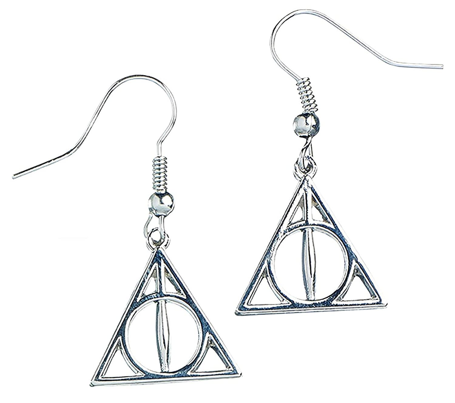 Official harry potter jewellery deathly hallows earrings amazon official harry potter jewellery deathly hallows earrings amazon jewellery buycottarizona