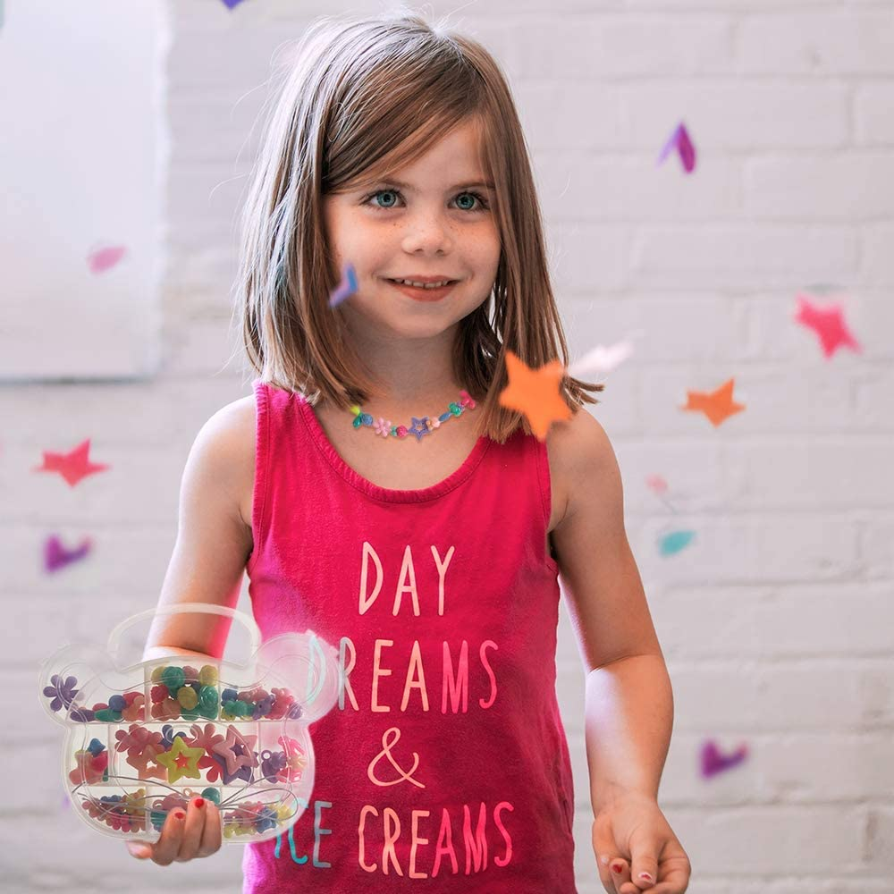 7,8 Year Old Kids Girls Snap Pop Beads for Girls Toys 5 6 DIY Art /& Craft Creativity Kits Bracelets Necklace Hairband Rings Jewelry Making Kit for Kids Birthday Holiday Gifts for 3 4