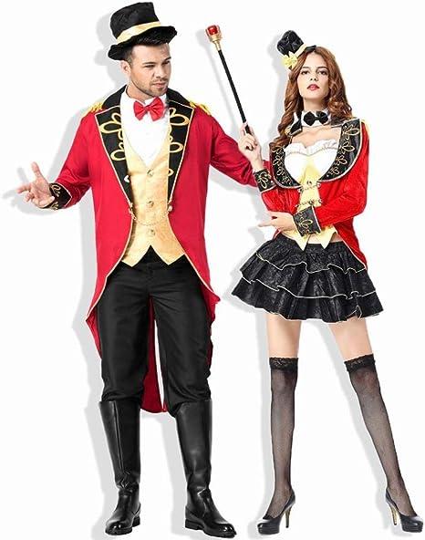 CN Disfraz de Mago de Halloween para Mujer Disfraz de Circo Earl ...