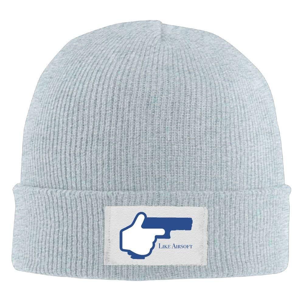 00ef11405 Amazon.com: LXXYZ b Adult Hats Like Airsoft Men Women Wool Cap Cool ...