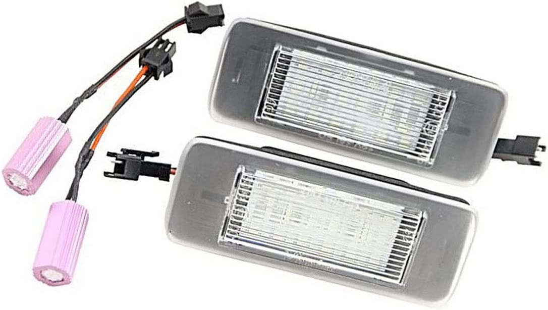 Estate 2 lampadine Canbus 18 SMD LED per Targa per O//pel Astra J Sports Tourer 2009-2015 Zafira Tourer C 2011 MuChangZi