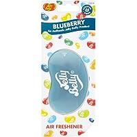 Jelly Belly 15214 3D Jelly Bean Air Freshener, Blueberry