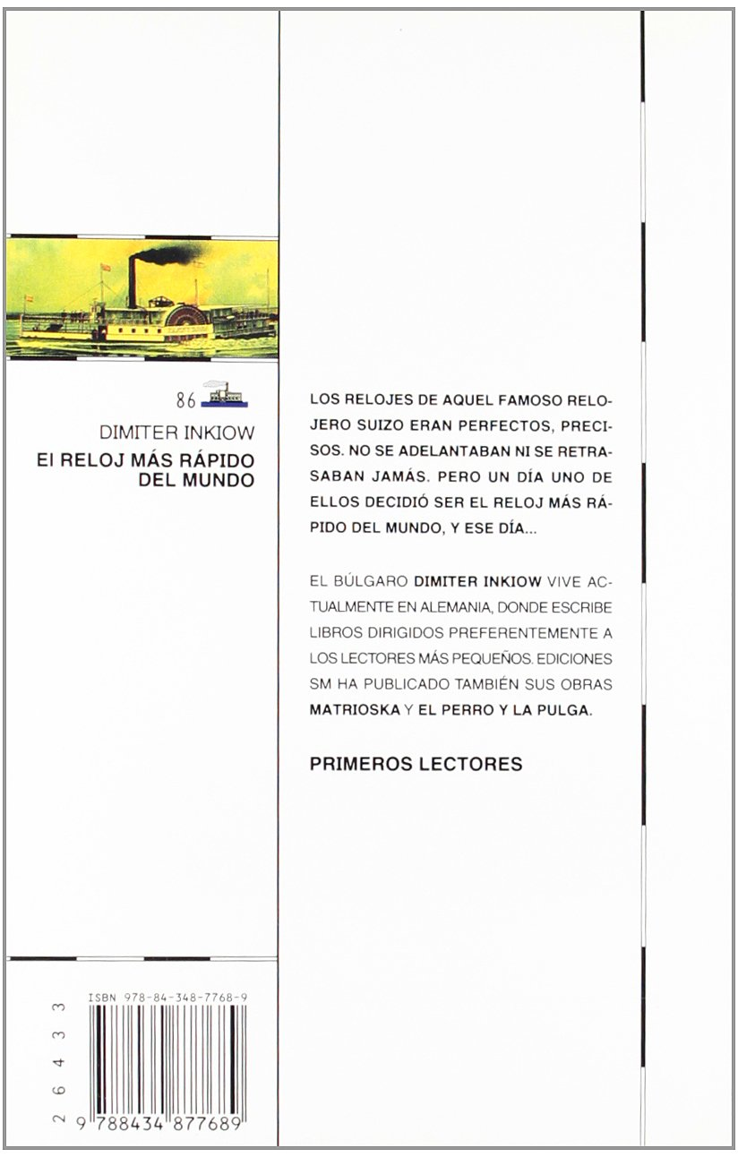 El reloj mas rapido del mundo/ The Worlds Fastest Clock (Spanish Edition): Dimiter Inkiow: 9788434877689: Amazon.com: Books
