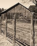 Cheap Rustic Barn Personalized Print