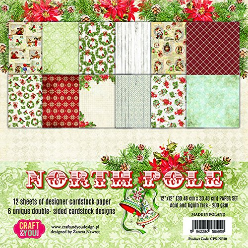 North Pole CYD Paper Pack 12x12