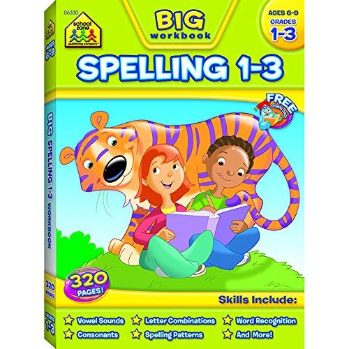 SCHOOL ZONE PUBLISHING BIG SPELLING GR 1-3 (Set of 6)
