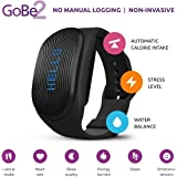 Healbe GoBe2 Wearable Wellness & Nutrition Tracker for Men and Women - Smart Heart Rate Monitor - Rem Sleep Tracker - Calorie Counter - Bluetooth Enabled