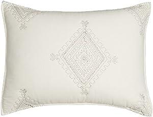 Levtex home Zira Standard Sham, Size 20x26, Cream