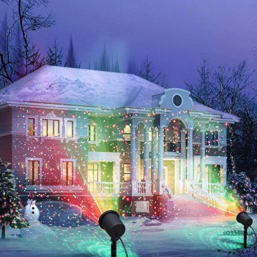 Up upjj no l laser lumi re rouge et vert laser projecteur de paysage de lumi re pour les for Projecteur laser lumiere noel