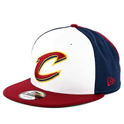 c06167226da50 Image Unavailable. Image not available for. Color  New Era Cleveland  Cavaliers Team Retro Wheel Snapback Hat